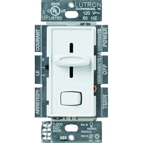 pipe l dimmer switch lutron diva c l dimmer for dimmable led halogen and