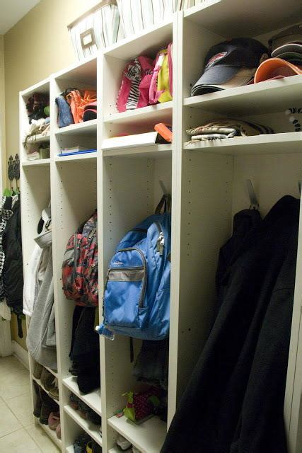 diy mudroom lockers diyideacentercom