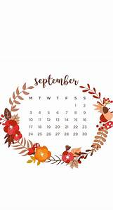 September 2018 Wallpaper calendar iPhone in 2019
