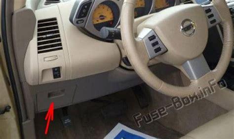 Fuse Box Diagram Nissan Murano