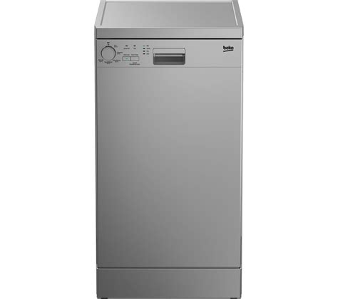 two dishwashers one buy beko dfs05010s slimline dishwasher silver free