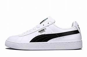 Basket Puma Noir Homme : homme puma basket classic lfs blanc noir ~ Melissatoandfro.com Idées de Décoration