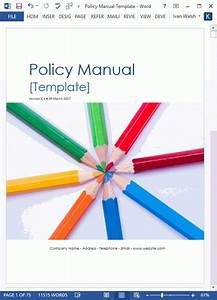 Policy Manual Template  Office