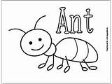 Coloring Pages Bugs Bug Ant Insect Easy Preschool Printables Pill Fun Insects Printable Drawing Crafts Peasy Ants Easypeasyandfun Activities Theme sketch template