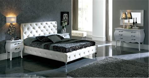 621 Nelly White Bedroom Furniture Set By Dupen, Spain