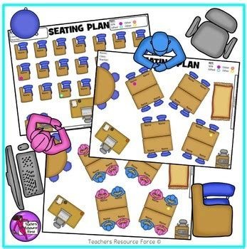 editable classroom seating chart template  movable