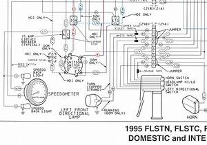 Harley Softail Wiring Diagram 1992 Fhstc  Diagrams  Auto Parts Catalog And Diagram