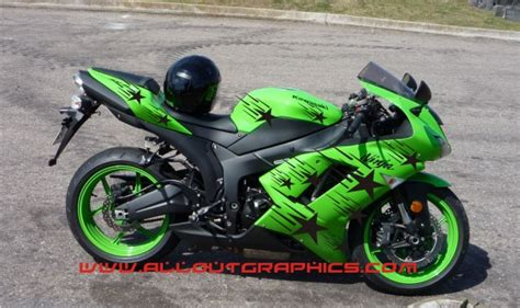 Star Scream Motorcycle Graphics