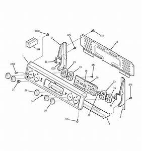 Ge Jbp24wb6ww Electric Range Parts