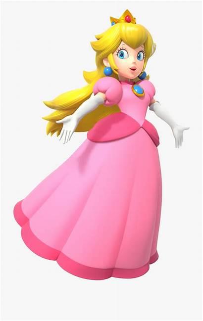 Peach Princess Mario Svg Clipart Party Cartoon