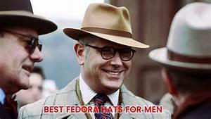 Best Fedora Hats For Men