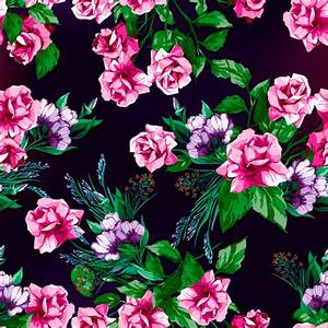 rose floral pattern roses prints textures background ...