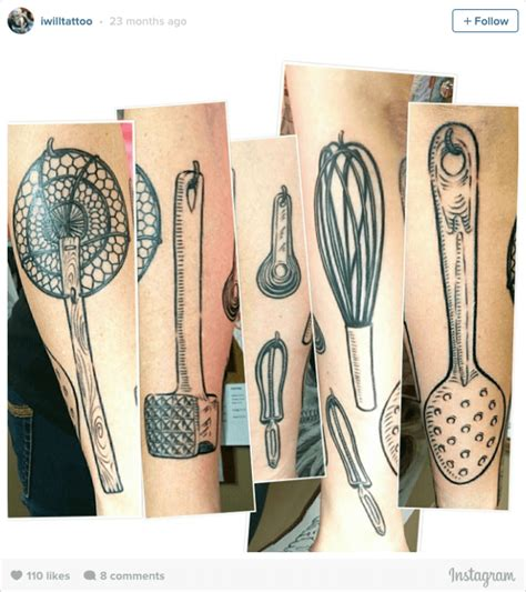 Kitchen Ink Foodies, Chefs And Tattoos