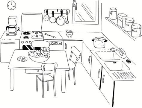 cuisine maternelle coloriage cuisine maternelle dessin gratuit à imprimer
