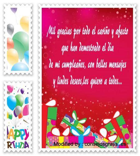 top agradecimientos de cumplea 241 os tarjetas de agradecimiento agradecimiento cumplea 241 os