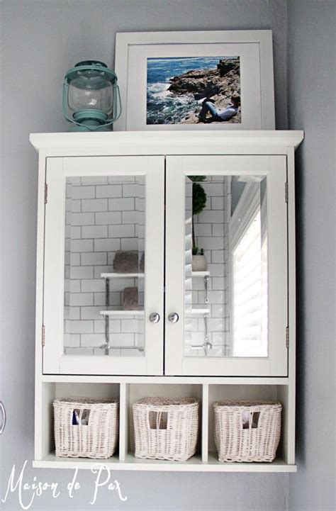 Small Bath Cabinet by 10 Tips For Designing A Small Bathroom Sea Cove Cottage
