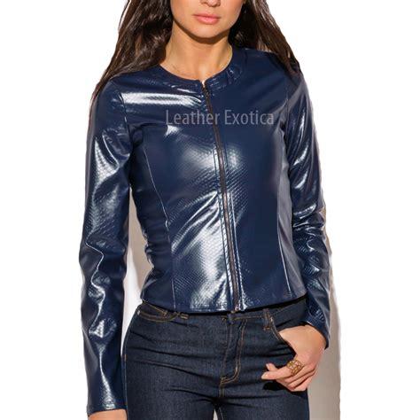 designer leather jackets crocodile embossed designer leather jacket for