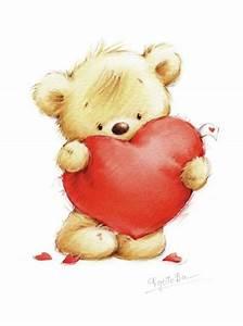 the single bear hugging heart-01.psd | Marina Fedotova ...