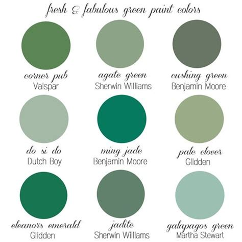 favorite green paint colors painting pinte