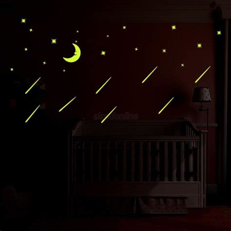 Glow In The Bedroom by 3d Moon Stickers Glow In The Fluorescent