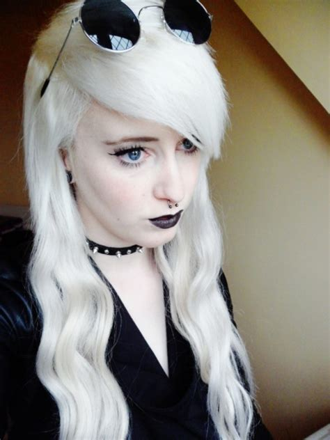 White Hair Pictures by Trending