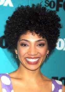 African American Short Natural Hairstyles for Curly Hair
