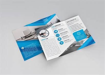 Tri Fold Brochure Template Apollo Professional