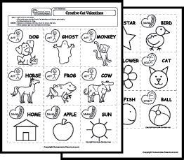 art worksheets games