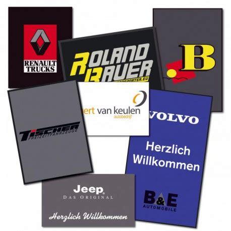 zerbino con logo zerbino personalizzabile con logo