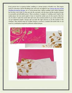 plan your wedding with the best jewish wedding invitations With indian jewish wedding invitations