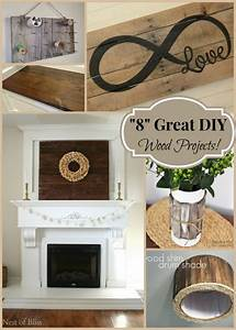 """8"" Great DIY Wood Projects"