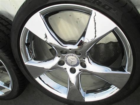sell   chrome cls sl factory mercedes oem