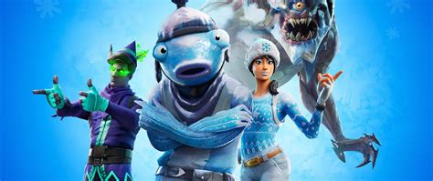 2560x1080 Fortnite Winter 2019 2560x1080 Resolution Hd 4k Wallpapers Images Backgrounds