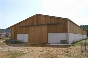 Batiment En Kit Bois : votre hangar agricole par un sp cialiste du batiment bois ~ Premium-room.com Idées de Décoration