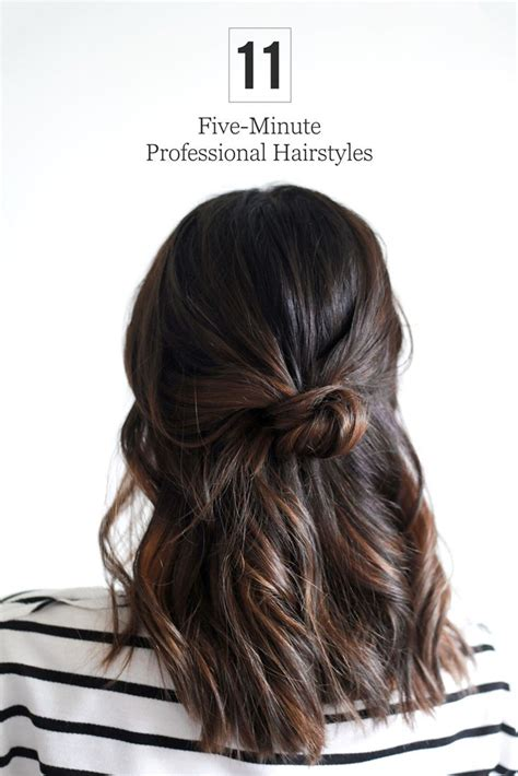25 best ideas about quick work hairstyles on pinterest