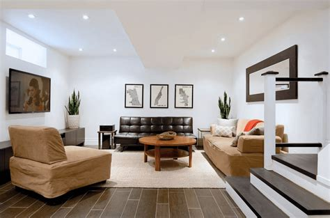 basement decorating ideas to create a multifunctional