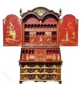 bureau large large chinoiserie bureau bookcase antiques atlas