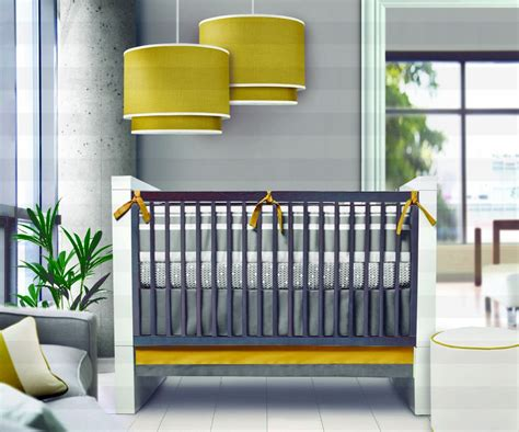 Modern Nursery Room Design Ideas With Hanging Lamps