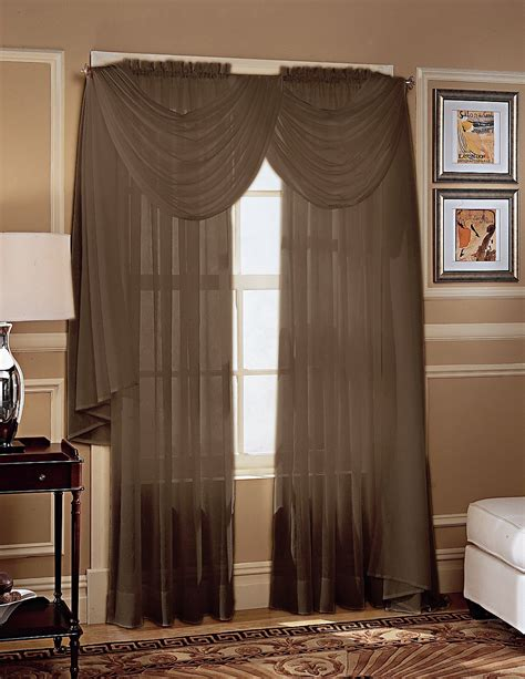 colormate crinkle voile window panel