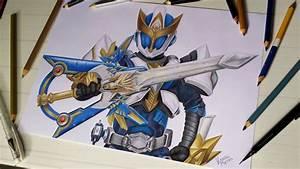 Speed Drawing Ryukendo  Tokusatsu Collab