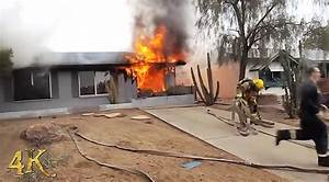 Arrival Video From Phoenix House Fire