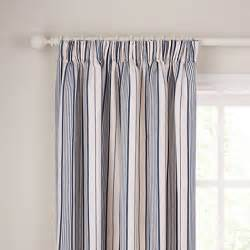 Navy And Blue Striped Curtains by Buy John Lewis Dorset Stripe Lined Pencil Pleat Curtains