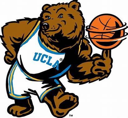 Ucla Mascot Bruins Basketball Clipart Logos Sports