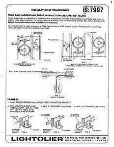 Lightolier Transformer Installation Pdf Download