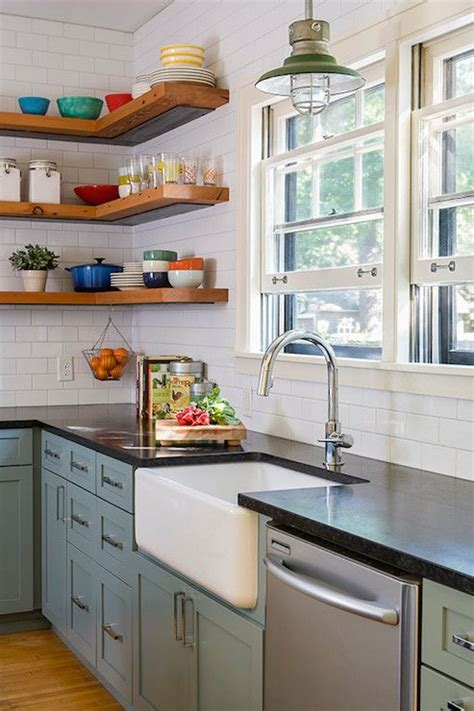 country kitchen images vintage kitchen design features slate blue base cabinets 2815