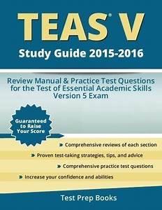 Secrets Of The Teas U00ae V Exam Study Guide  Teas U00ae Test Review