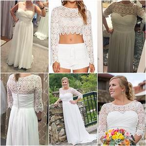 4 sizes too big off the rack strapless dress lace crop With off the rack wedding dresses near me