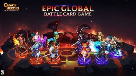 Best Epic Global Battle Card Game 2020   Chaos Heroes ...
