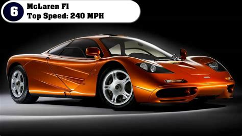 Top 10 Most Fastest Cars In The World