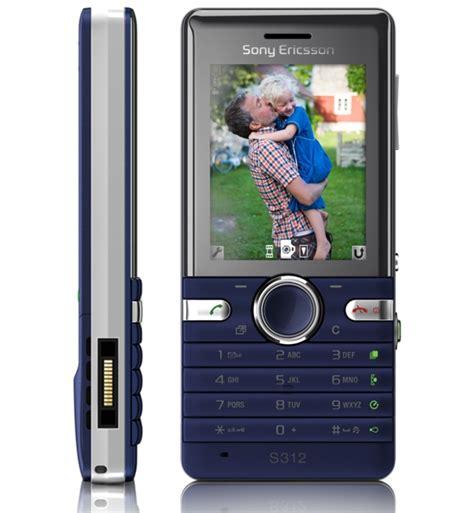 sony ericsson unveils w205 walkman s312 snapshot phones